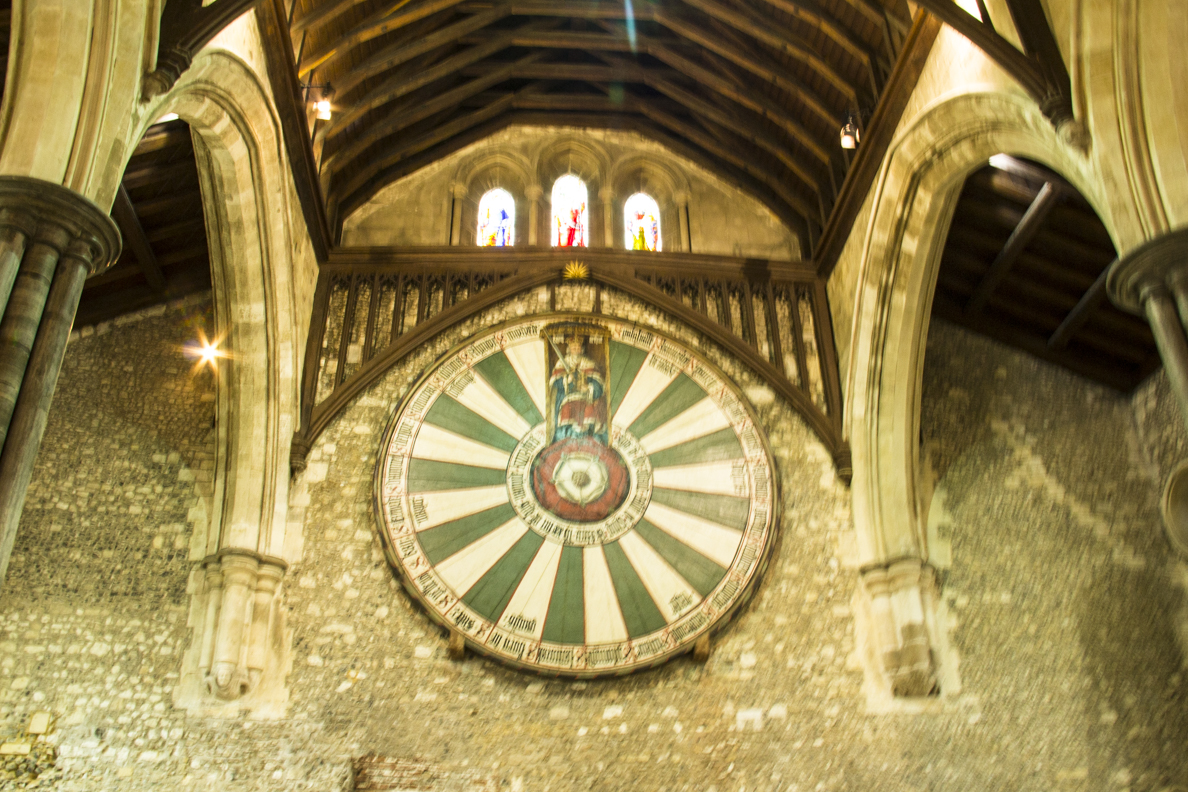 Inside the Great Hall in Winchester, Hampshire, England 65