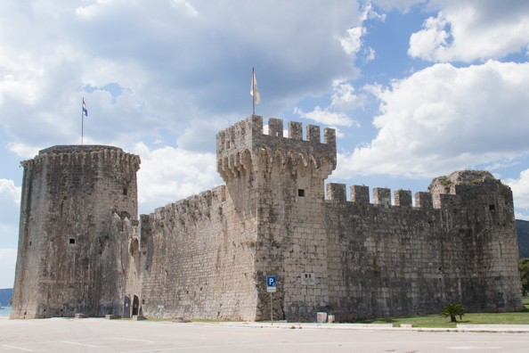 Kamerlengo Castle in Trogir, Croatia