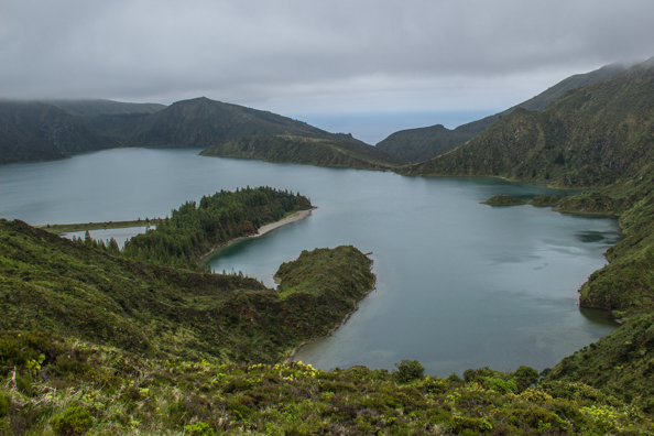 Lagoa do Fogo on the island of São Miguel in the Azores