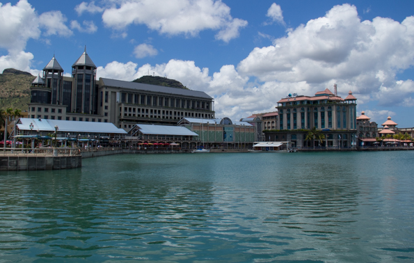 Le Caudan Waterfront in Port Louis on Mauritius