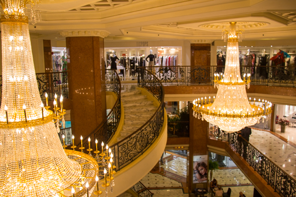 Le Metropole shopping centre in Monte Carlo, Monaco