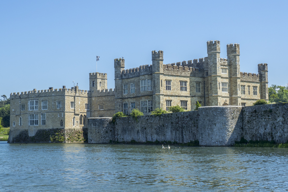 Leeds Castle near Maidstone in Kent  5161990