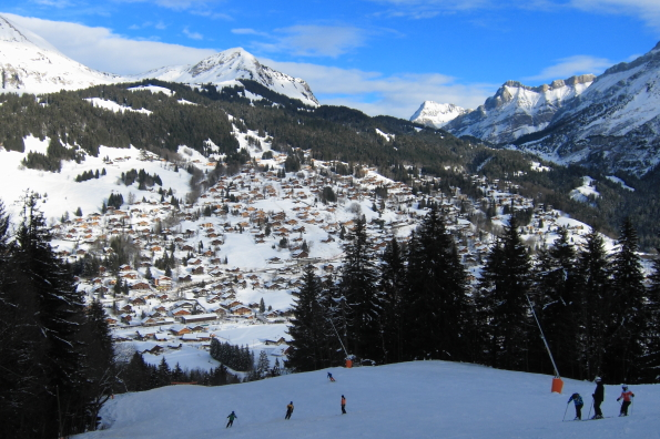 Les Diablerets from the Meilleret Chair