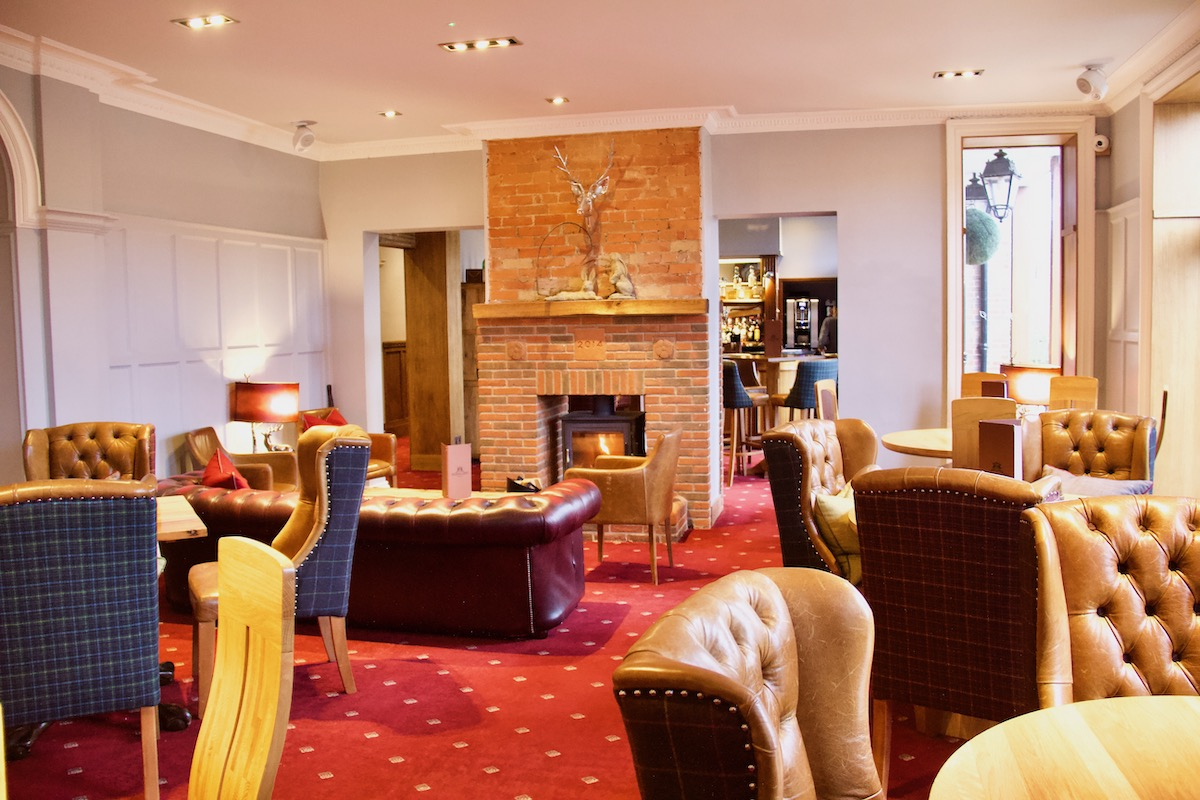Lounge in the Balmer Lawn Hotel, Brockenhurst, New Forest  3399