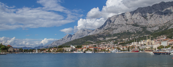 Makarska the Capital of the Makarska Riviera in Croatia