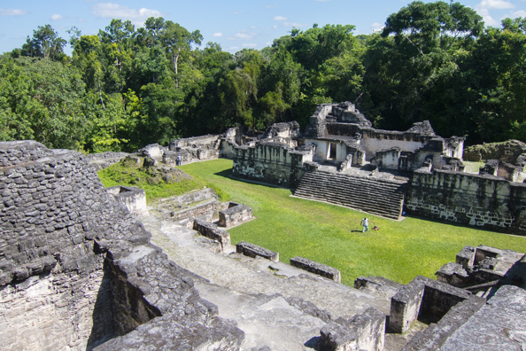Mayan temples at Tikal National Park in Guatemala