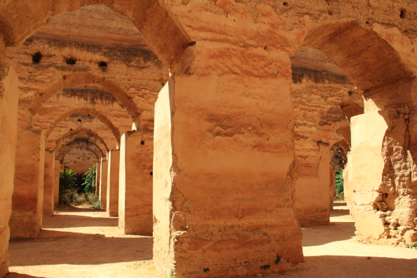 The Royal Stables at Mekness Morocco