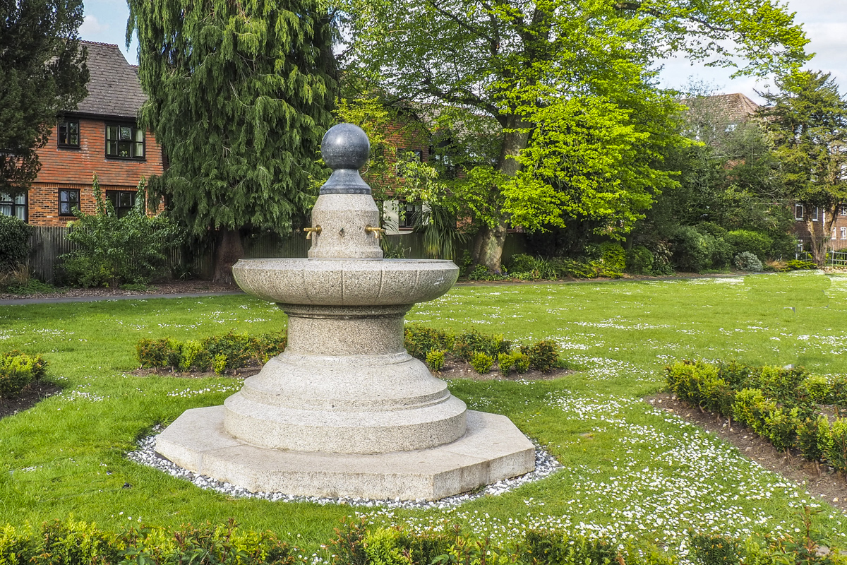 Miss Bell's Fountain in the Public Gardens in Alton, Hampshire 4293528