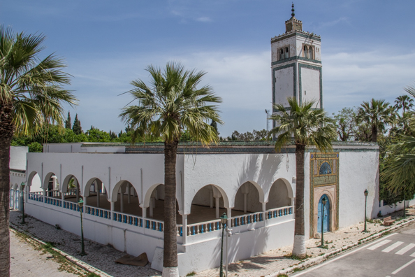 Mosque in the Bardo Palace complex in Tunis, Tunisia