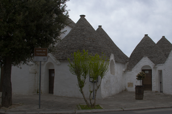 Museum of the Territory in Alberobello  in Puglia, Italy