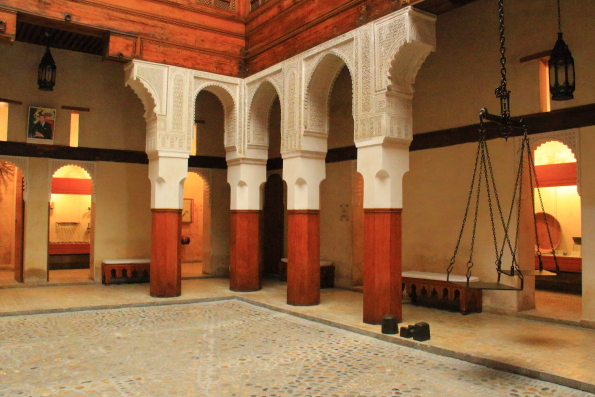 Nejarine Museum of Wooden Arts and Crafts in Fez Morocco
