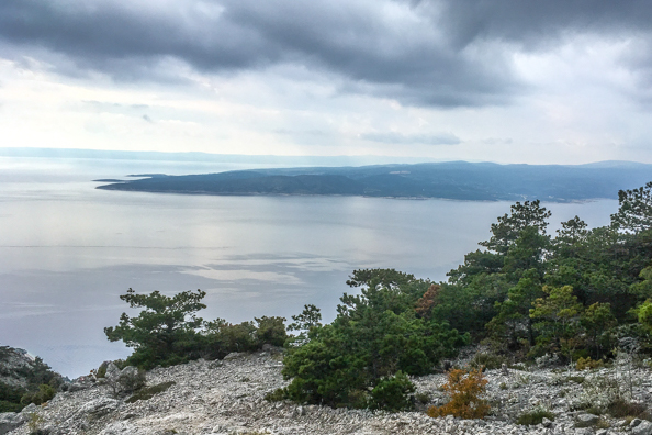 Nevista on Mount Biokovo on the Makarska Riviera in Croatia