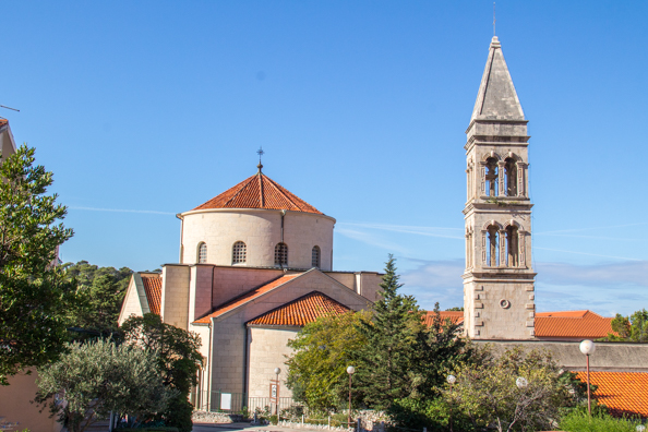 New church of the Franciscan Monastery in Makarska in Croatia