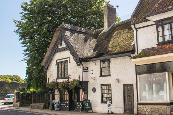 New Forest Perfumery Tea Rooms in Christchurch, Dorset UK