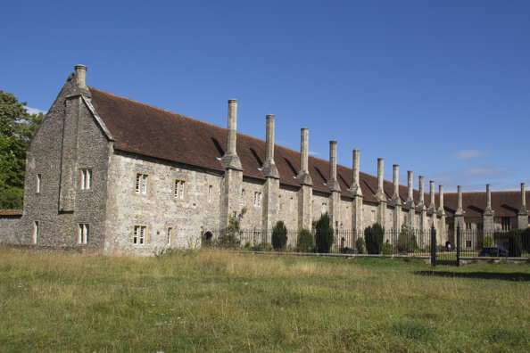 Noble Almshouses of St Cross Hospital in Winchester