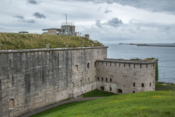 Nothe Fort in Weymouth, Dorset, UK