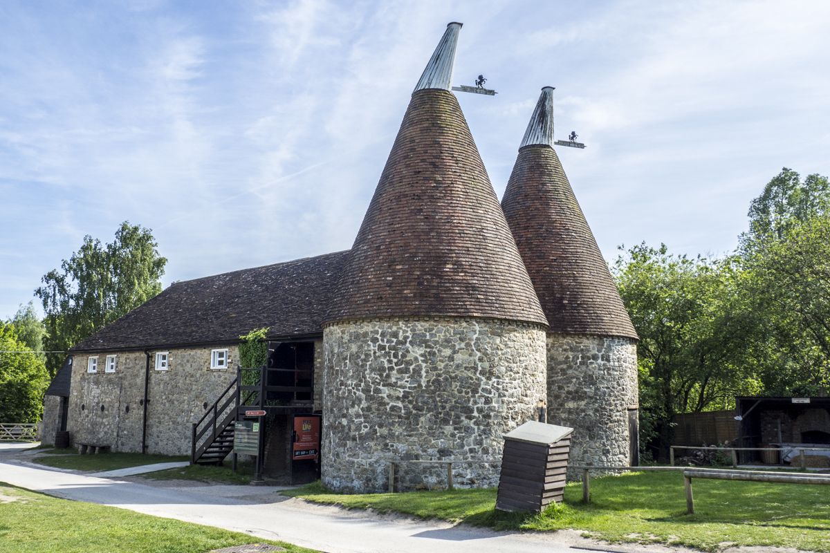 Oast House at Kent Life near Maidstone in Kent  5151746