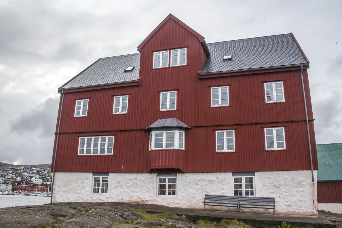 Offices of the Prime Minister of the Faroe Islands in Tórshavn capital of the Faroe Islands  7281