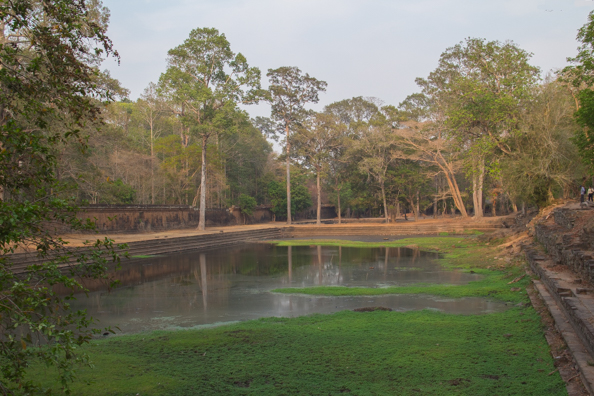 One of the pools in the Royal Enclosure of Angkor Thom, Siem Reap in Cambodia