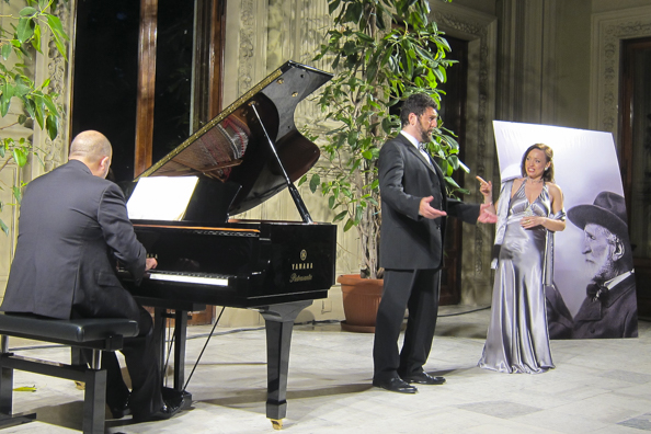 Opera concert at the Excelsior Terme in Montecatini Terme, Tuscany in Italy