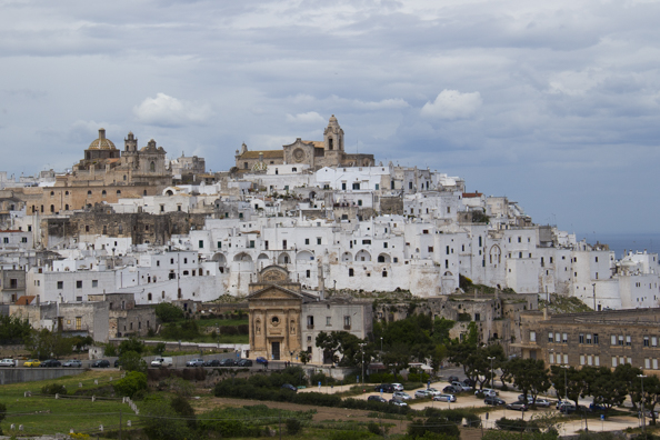 Ostuni, the White Ciity, in Puglia, Italy