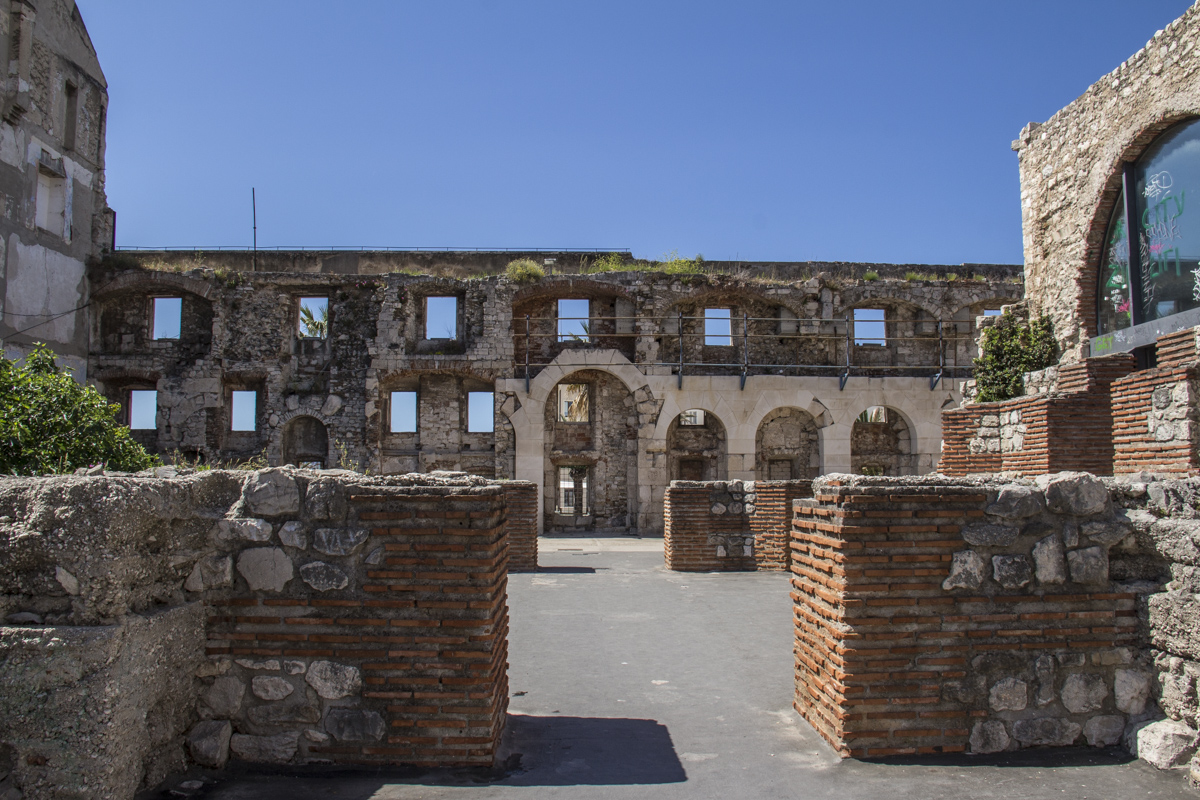 Palace of Diocletian in Split, Croatia 5347