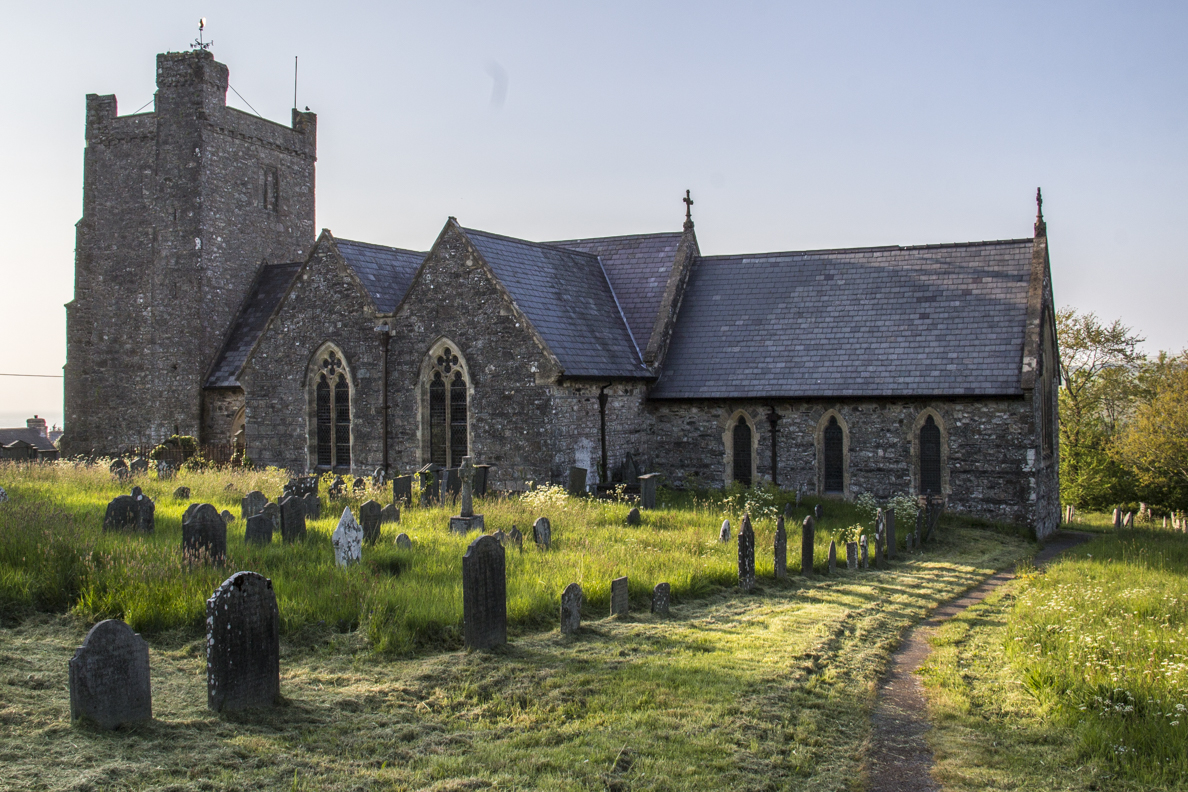 Parish church of St Mary in Newport, Pembrokeshire, Wales   8650