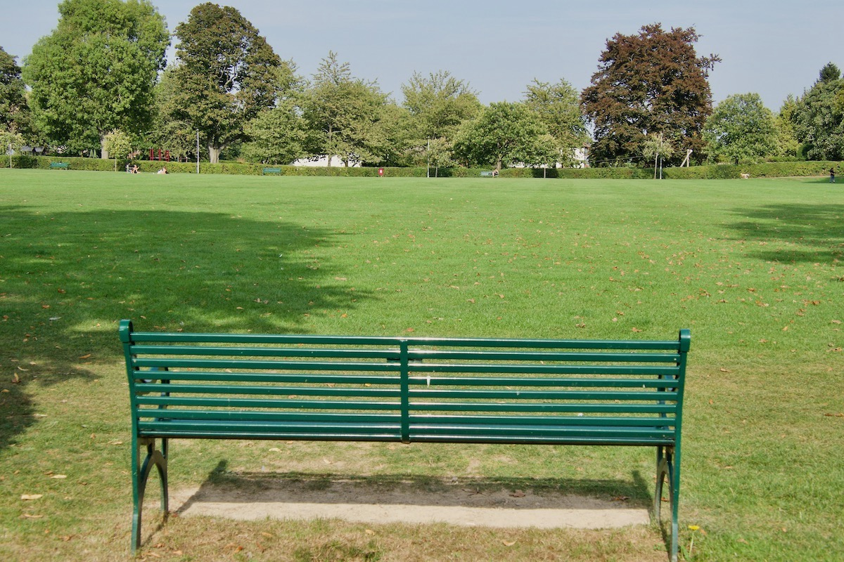 Phillimore Recreation Ground in Radlett, Herts