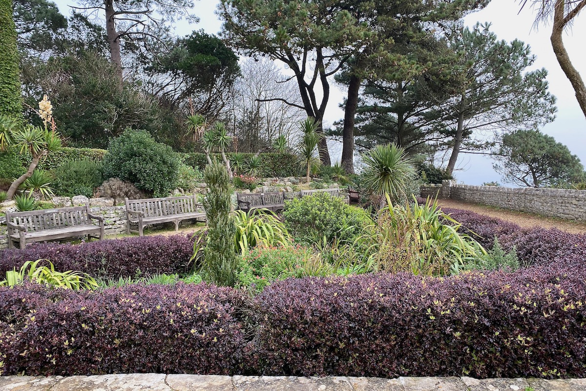 Pinecliff Garden in Canford Cliffs, Dorset