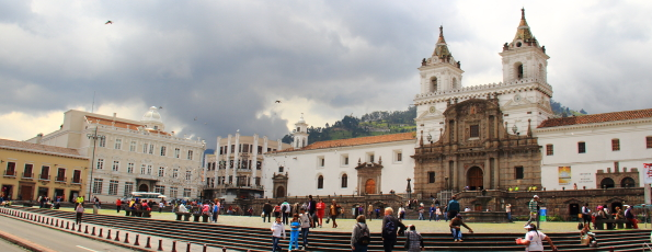 Plaza San Francisco Quito Ecuador