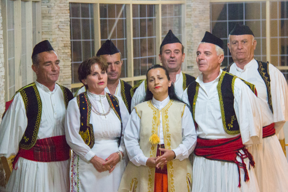 Polyphonic singers in Albania