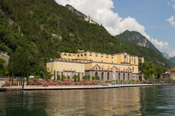 Ponale in Riva del Garda on Lake Garda in Italy