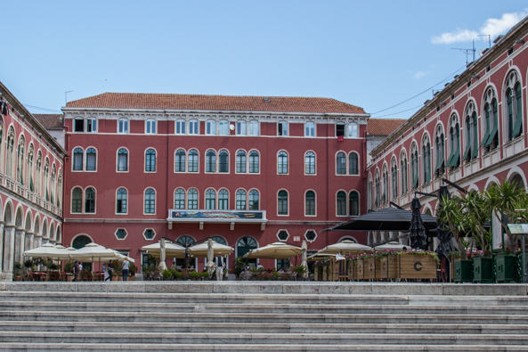 Prokurative or Republic Square in Split, Croatia