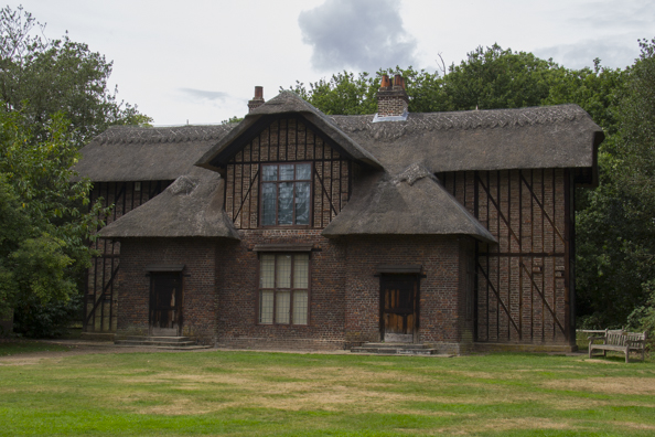 Queen Charlotte's cottage at Kew Gardens in London