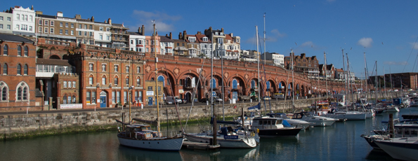 The Royal Harbour Hotel and The Empire Room Restaurant in Ramsgate, Kent