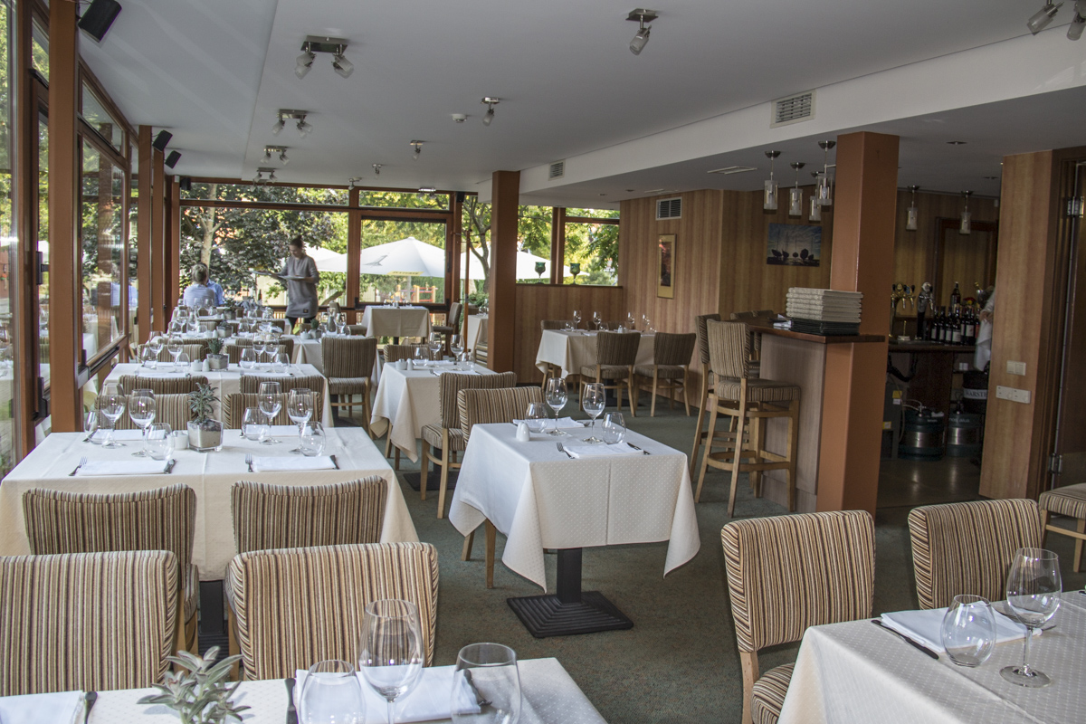 Restaurant at the Nerija Hotel in Nida in Lithuania   0002