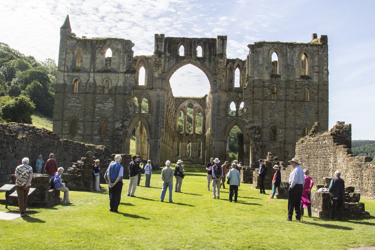 Rievaulx Abbey in North Yorkshire 1027