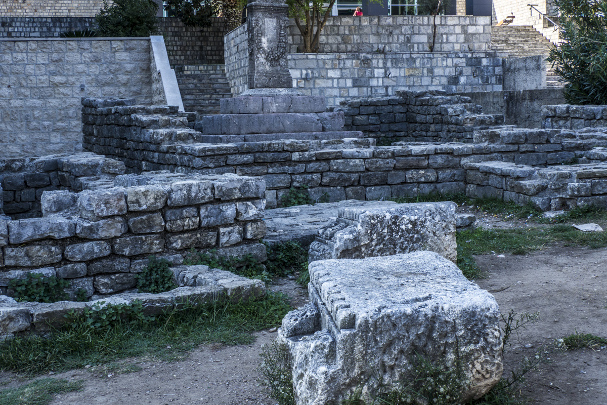 Roman Remains in Budva in Montenegro 150273