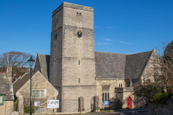 Saint Mary's Church in Swanage, Dorset