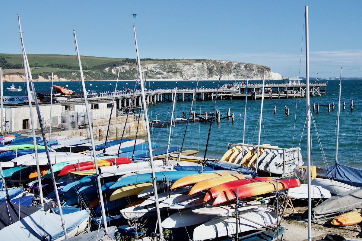 Sea Front in Swanage, Dorset