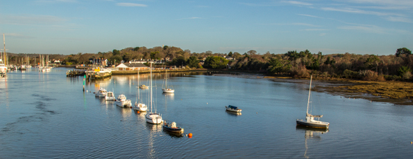 Lymington, the Coastal Capital of the New Forest in England