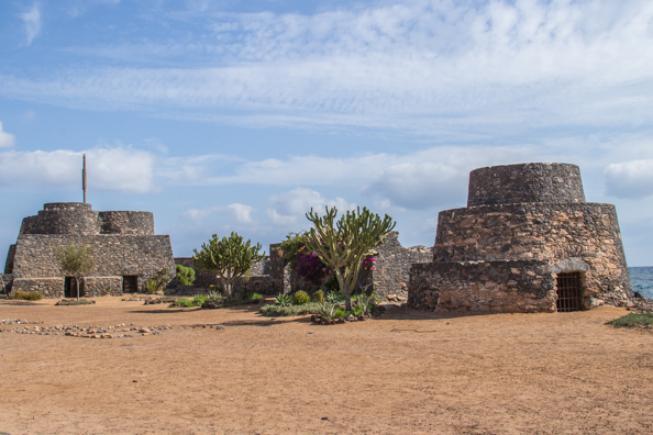 Seventeenth Century Fortifications in Caleta del Fuste on Fuerteventura
