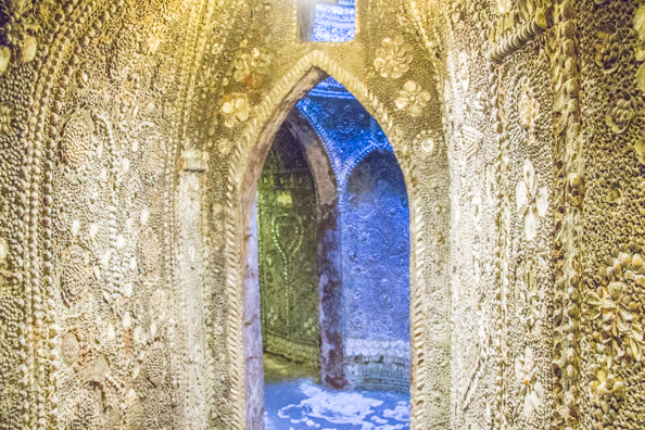 Shell Grotto in Margate, Thanet in Kent