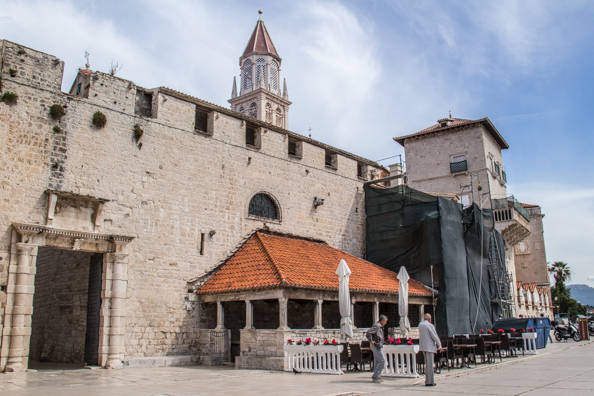 South Gate of Trogir in Croatia