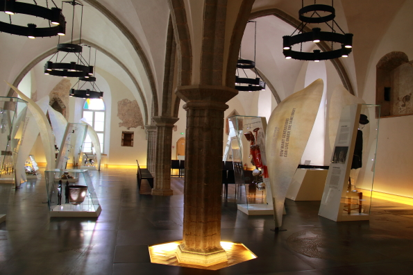 Spirit of Estonia exhibition in the Old Guild Hall in Tallinn capital of Estonia