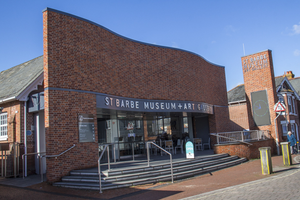 St Barbe Museum and Art Gallery in Lymington