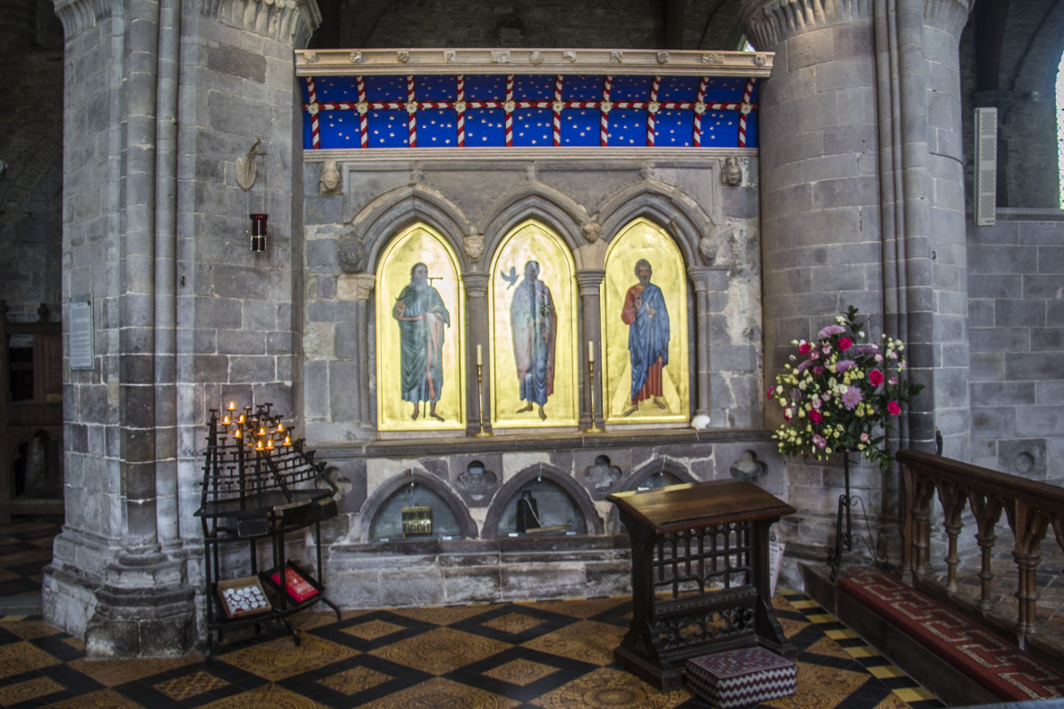 St David's Shrine in the Cathedral, St David's, Pembrokeshire, Wales  6134
