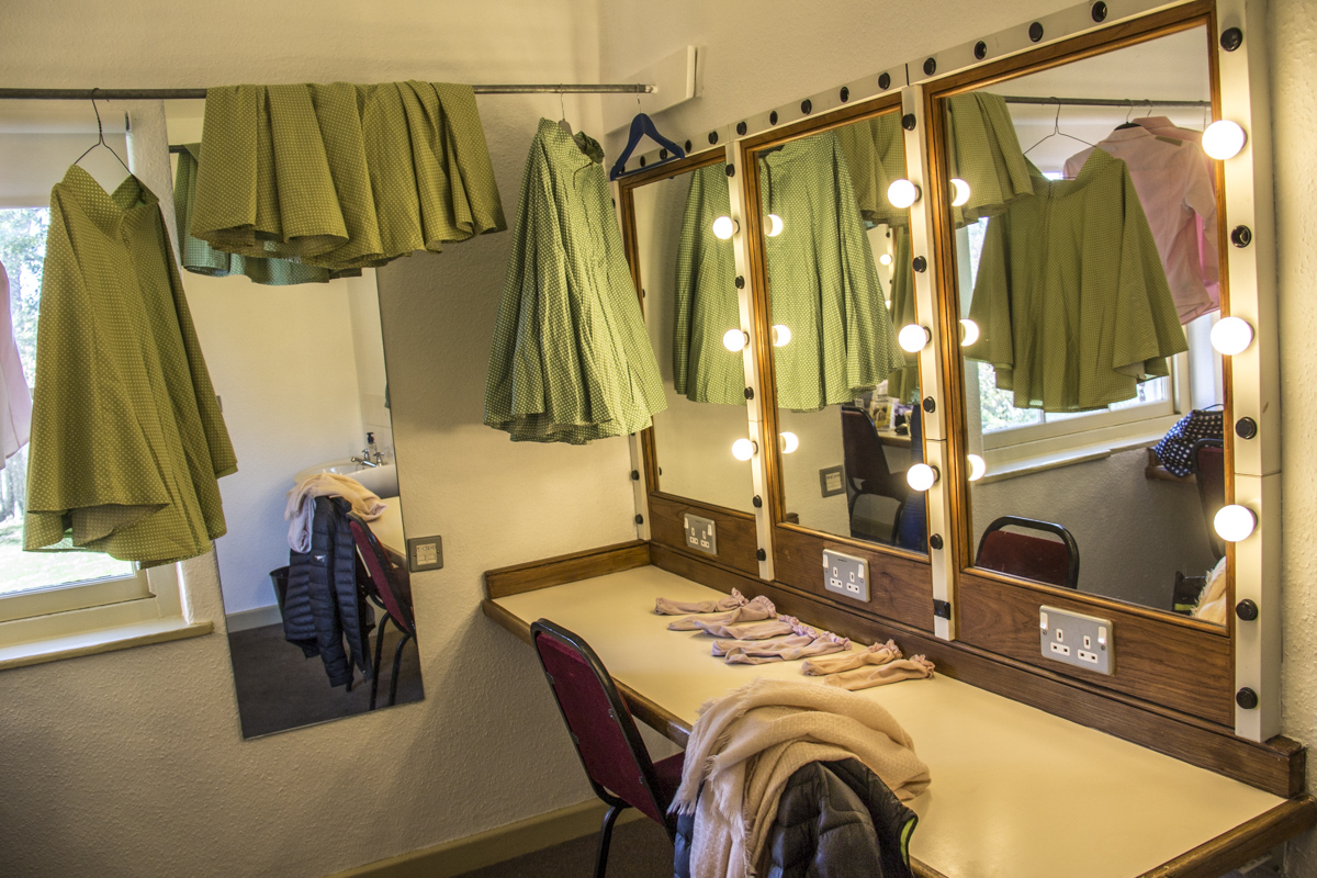 Star dressing room at the Theatre Royal in Bury St Edmunds, Suffolk, UK  0027