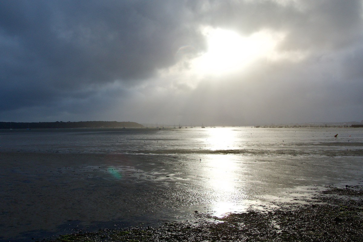 Stormy Skies Above Poole Harbour