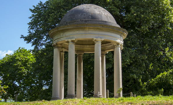 Temple of Aeolus in Kew Gardens in London